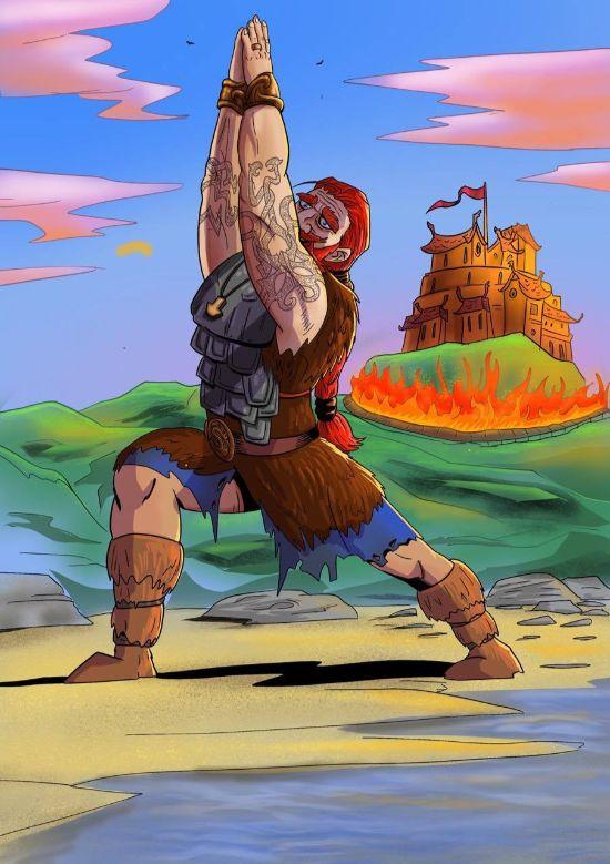 Dag 21 – Vikingen